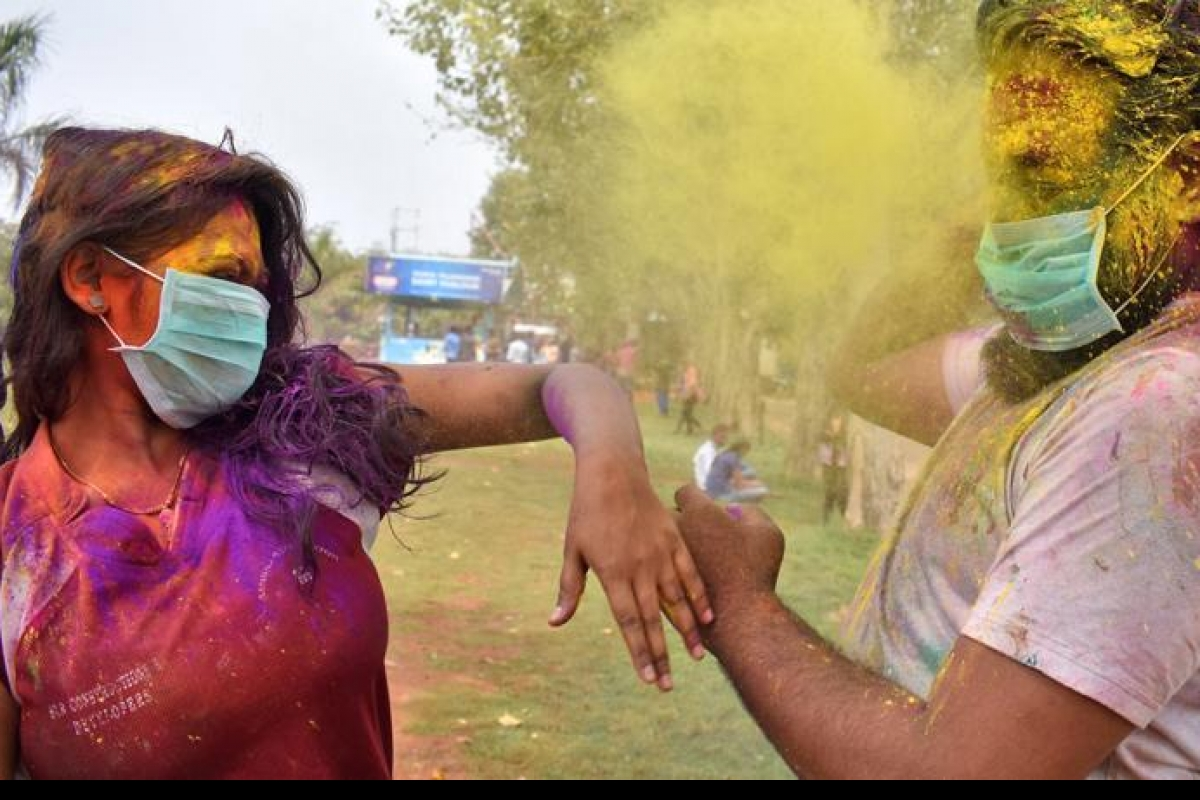 holi safety in covid
